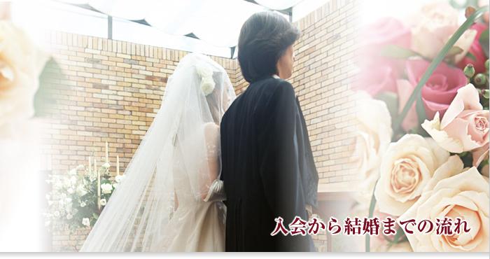 入会から結婚までの流れ